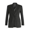 Ladies? Pinstripe Wool Blend Suit Coat
